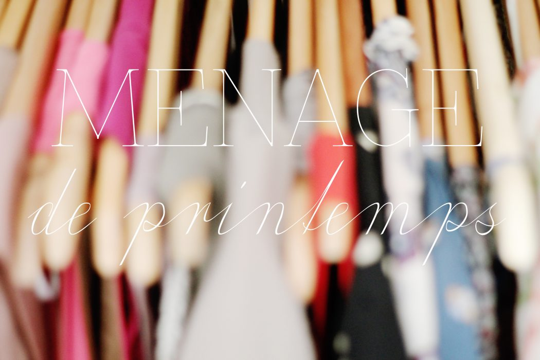 Organiser son dressing part iv on range tout - Comment ranger son armoire a linge ...