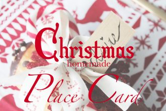 christmas place card 1