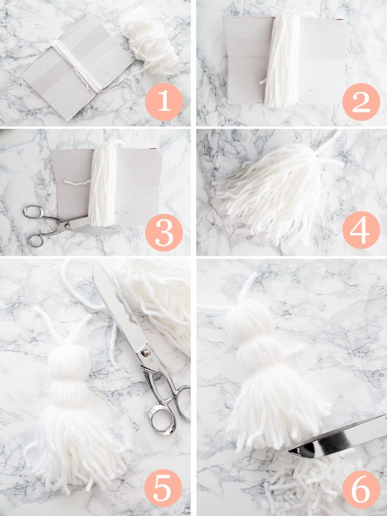 Comment faire un plaid a pompons 4