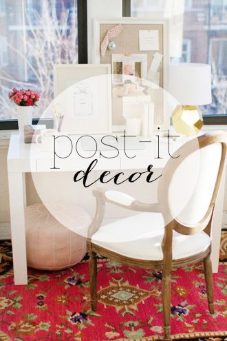 post it decor #4 #1