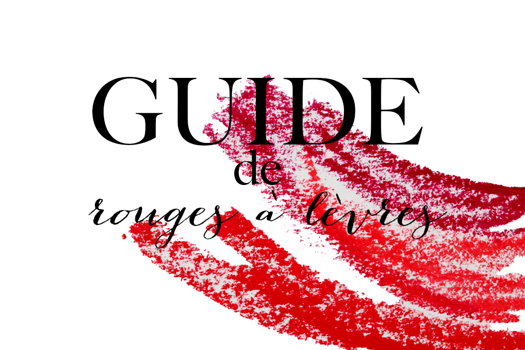 Guide de rouges a levres 1