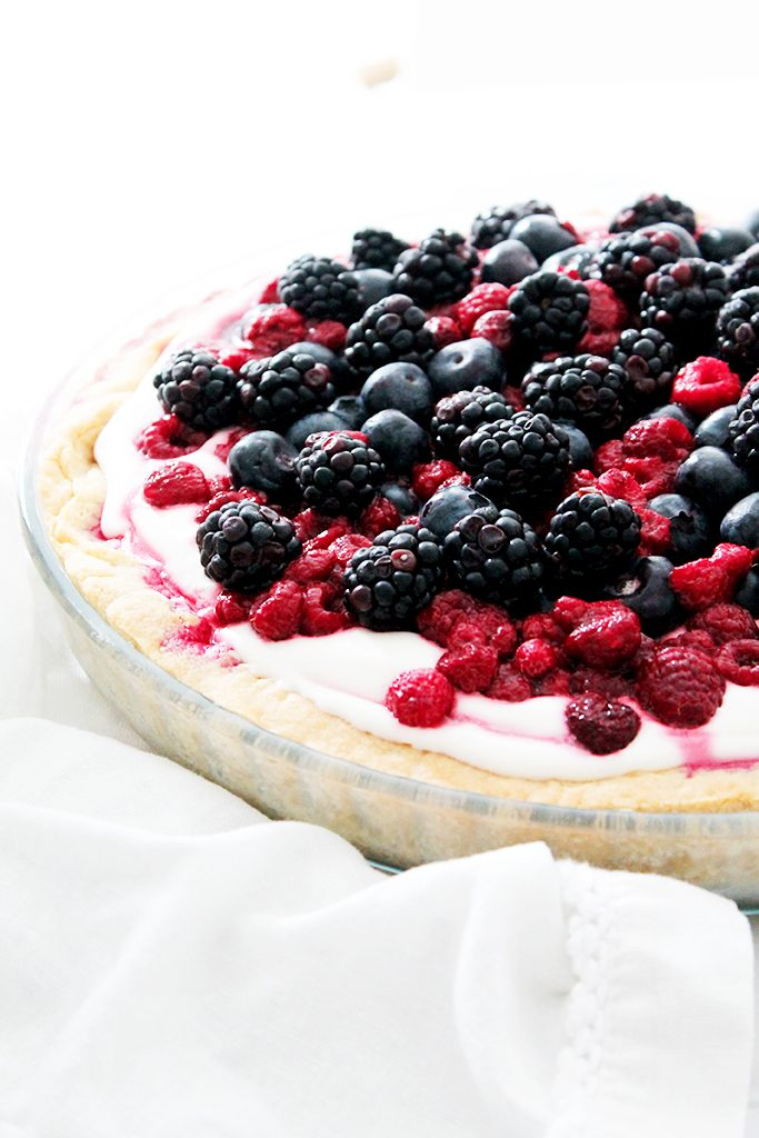Tarte de printemps aux fruits rouges 6
