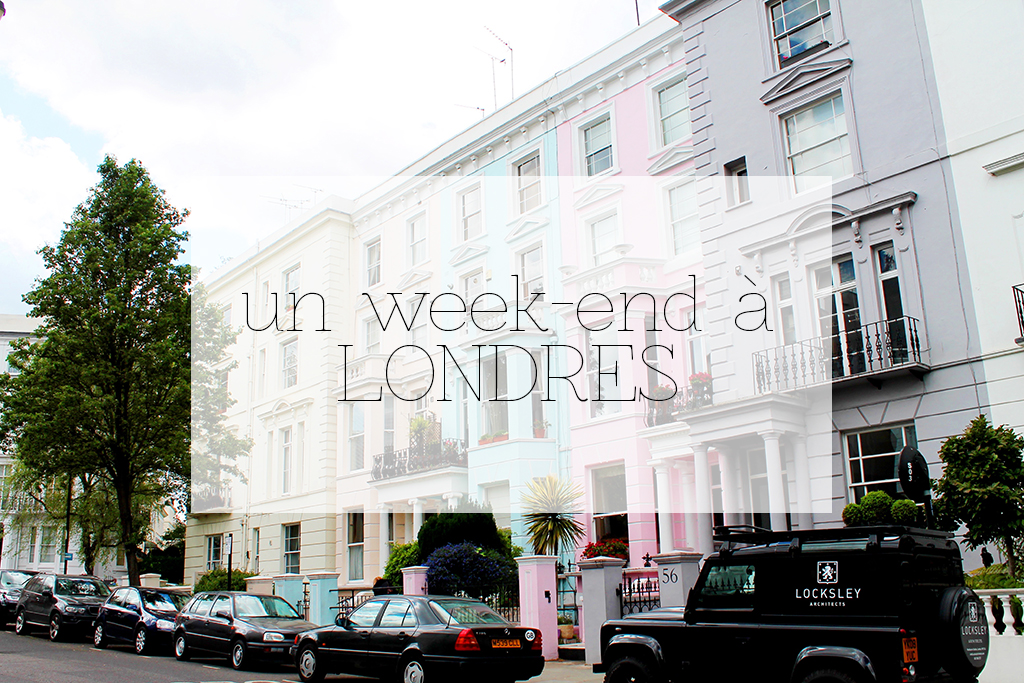 Un week end a Londres 1