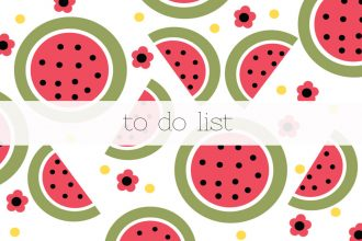 To do list pasteques 1