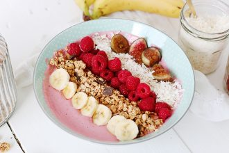 Recette simple de smoothie bowl