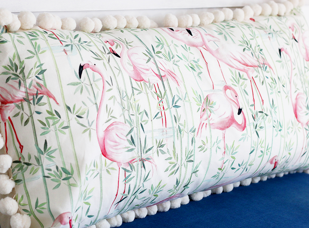 DIY : Maxi coussin flamants roses